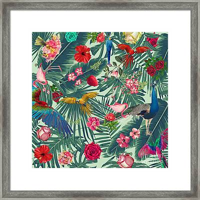 Tropical Fun Time  Framed Print