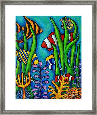 Tropical Gems Framed Print