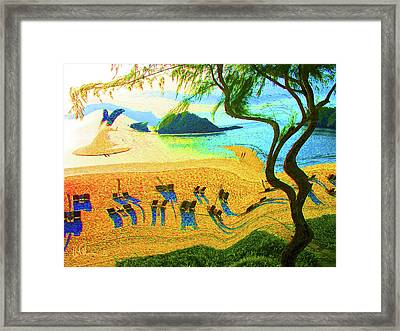 Tropical Holiday Framed Print