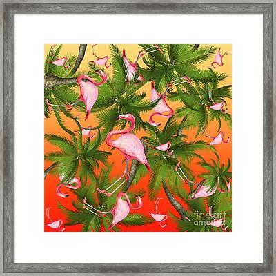 Tropical Framed Print by Mark Ashkenazi