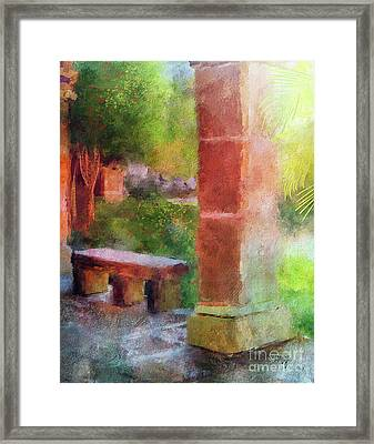 Tropical Memories Framed Print by Lois Bryan