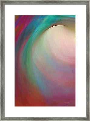 Tropical Motion Framed Print