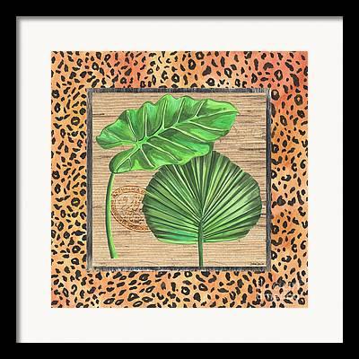 Botany Mixed Media Framed Prints