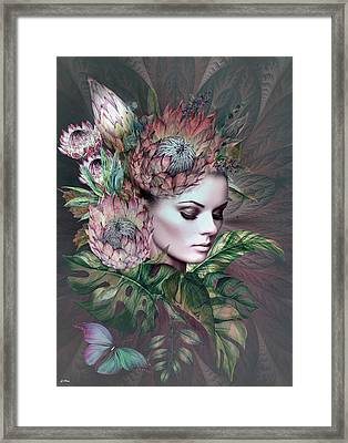 Tropical Passion Framed Print