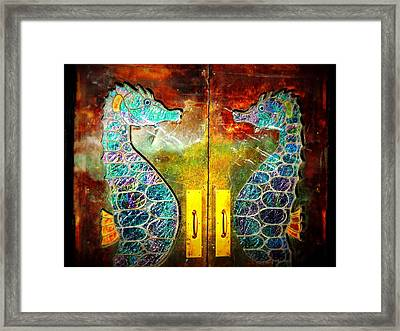 Tropical Ponies Framed Print by JAMART Photography