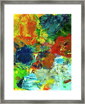 Tropical Reef #308 Framed Print by Donald k Hall