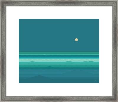 Tropical Seas Framed Print