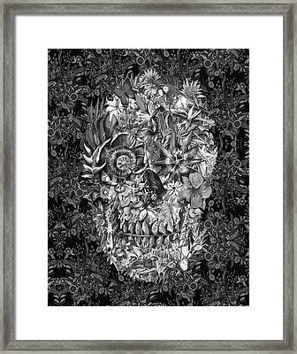 Tropical Skull 3 Framed Print