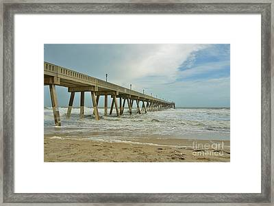 Tropical Storm Ana 1 Framed Print by Bob Sample