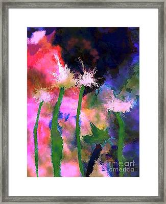 Tropical Storm Framed Print by Mimo Krouzian