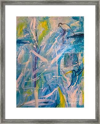 Tropicana Bird 02 Framed Print by Gallery Messina