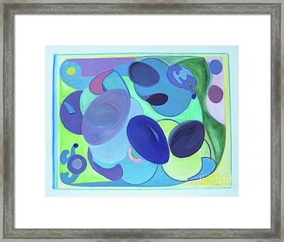 Tropicana Framed Print by Elena Fattakova