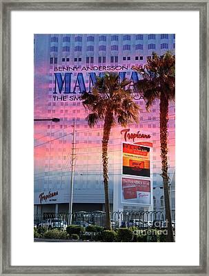 Tropicana Las Vegas Framed Print