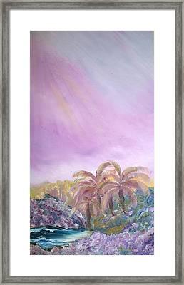 Tropics Framed Print by Ellen Young