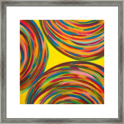 Trottole  Framed Print by Monica Palermo
