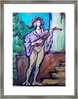 Troubadour Framed Print by Kevin Middleton