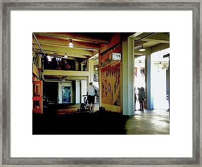 Troubadour Framed Print