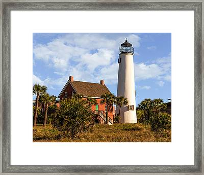 Troubled Light Framed Print by Capt Gerry Hare