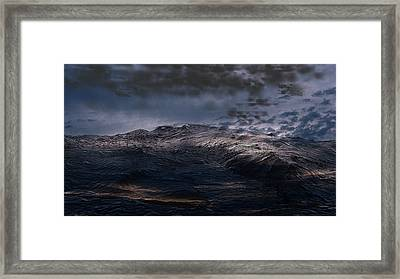 Troubled Waters Framed Print
