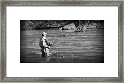 Trout Fishing 1 Framed Print
