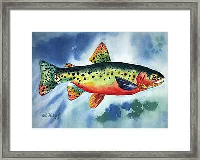Trout Framed Print