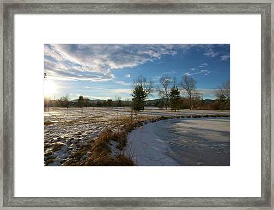 Troutman Park Framed Print by Christopher Wood