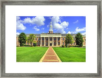 Troy University Bibb Graves Hall Framed Print by JC Findley