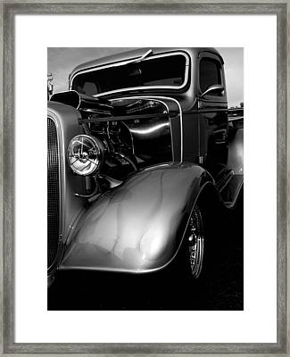Truck Framed Print by Audrey Venute