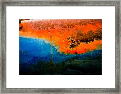 Truck Rust Framed Print by Craig Perry-Ollila
