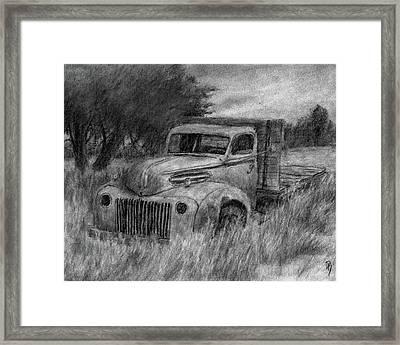 Truck Study I Framed Print by David King