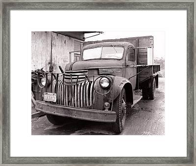 Truck Framed Print by Viktor Stakhov