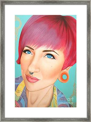 True Beauty - Jerica Wentzell Framed Print