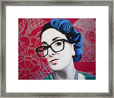 True Beauty - Nici Shipway Framed Print