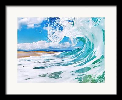 Keiki Framed Prints