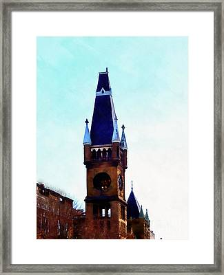 Framed Print featuring the photograph True Colors - Scranton by Janine Riley
