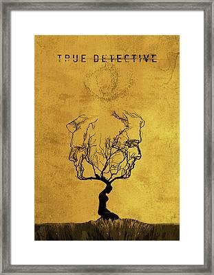 True Detective Tv Show  Framed Print