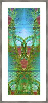 True Form Framed Print by Gwyn Newcombe