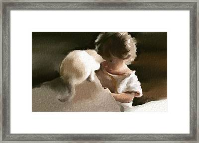 True Friends Framed Print by Hank Nunes
