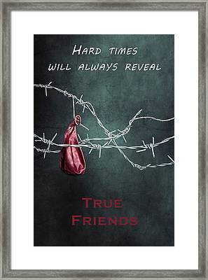 True Friends Framed Print