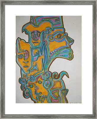 True Gold Framed Print by Philip Arnzen-Jones
