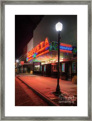 True Grit At The Augusta Framed Print by Fred Lassmann