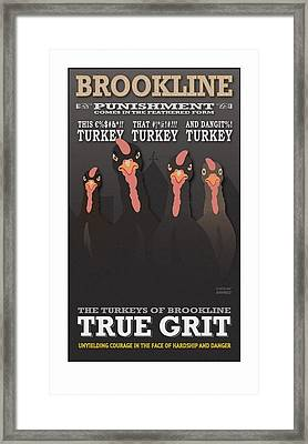 True Grit Framed Print
