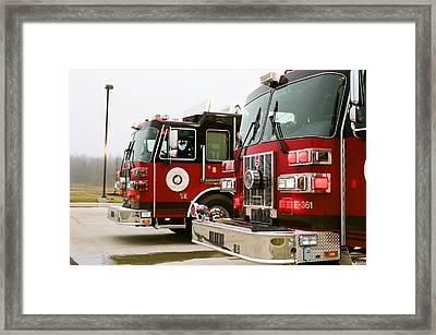 True Heroes Framed Print by Jonathan Michael Bowman