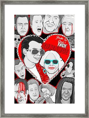True Romance Framed Print by Gary Niles