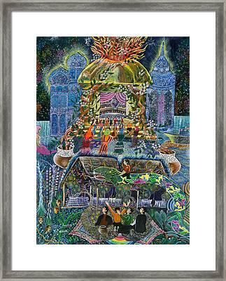 Trueno Ayahuasca  Framed Print