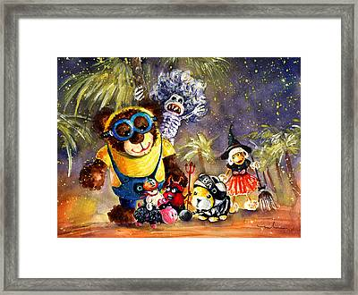 Truffle Mcfurry Halloween Party Framed Print