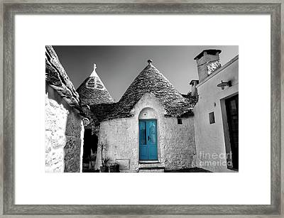 Trulli Framed Print by Alessandro Giorgi Art Photography
