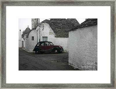Trully's Framed Print by Dennis Curry