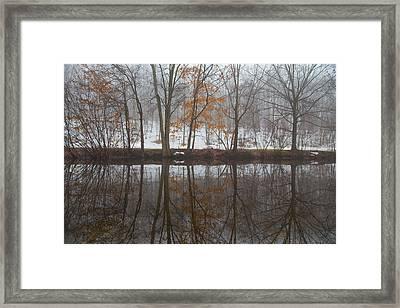 Trumbulls Winter Framed Print by Karol Livote