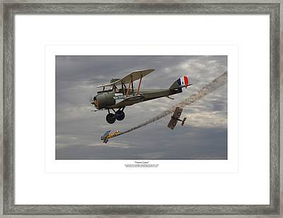 Trump Card - Titled Framed Print by Mark Donoghue